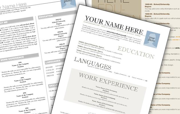 Revamp your CV using these original templates